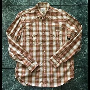 Lucky Brand Sportswear Distinctive Western Shirt